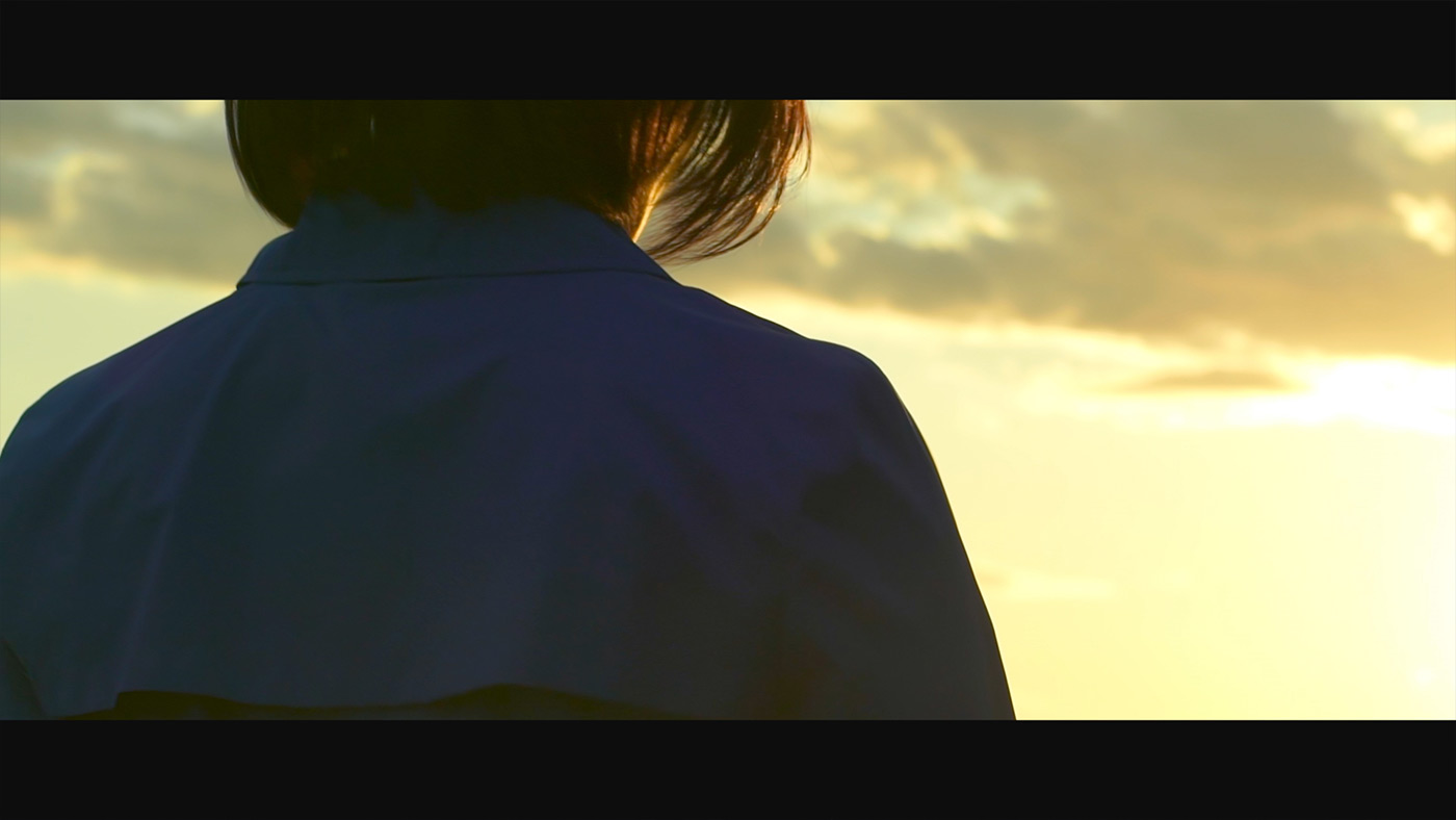 TEAM BLUE 夕焼け